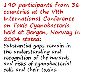 Cyanobacteria 190 participants from 36 countries picture